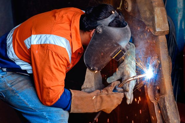 Heavy Machinery Industry Steel welding.